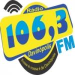 Logo da emissora Rádio Davinópolis 106.3 FM