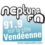 Logo da emissora Neptune 91.9 FM