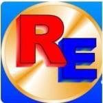 Logo da emissora Webrádio Rocha Eterna