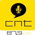 Logo da emissora Rádio CNT 87.9 FM