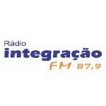 Logo da emissora Rádio Comunitária Integração 87.9 FM