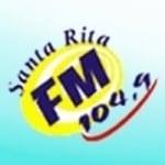 Logo da emissora Rádio Santa Rita 104.9 FM