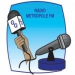 Logo da emissora Rádio Metrópole FM