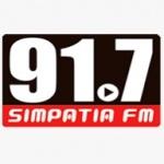 Logo da emissora Radio Simpatia FM 91.7