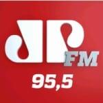 Logo da emissora Rádio Jovem Pan 95.5 FM