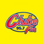 Logo da emissora Rádio Clube 95.7 FM