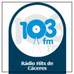 Logo da emissora Rádio Centro América 103.1 FM Hits