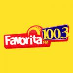 Logo da emissora Rádio Favorita 100.3 FM