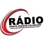 Logo da emissora Rádio Porto Franco FM Online
