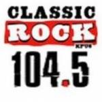 Logo da emissora KPUS 104.5 FM