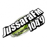Logo da emissora Rádio Jussara 104.9 FM