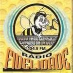 Logo da emissora Rádio Fidelidade 104.9 FM