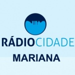 Logo da emissora Rádio Cidade Mariana