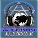 Logo da emissora Rádio Ushemo Echad