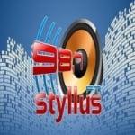 Logo da emissora Rádio Styllus 98.7 FM