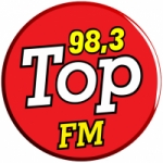 Logo da emissora Rádio Top 98.3 FM