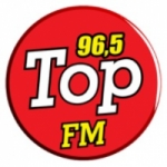 Logo da emissora Rádio Top 96.5 FM