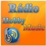 Logo da emissora Rádio Hobby Music