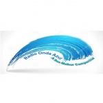 Logo da emissora Rádio Onda Azul