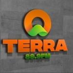Logo da emissora Rádio Terra 89.9 FM
