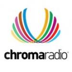 Logo da emissora Chroma Radio Rock