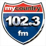 Logo da emissora WTRS 102.3 FM My Country