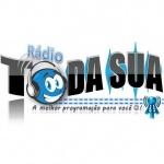 Logo da emissora Rádio Toda Sua On Line