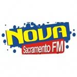 Logo da emissora Rádio Nova Sacramento 104.9 FM