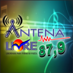 Logo da emissora Rádio Antena Livre 87.9 FM