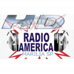 Logo da emissora Rádio América Marília