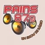 Logo da emissora Rádio Pains 87.9 FM
