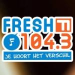 Logo da emissora Radio Fresh 104.3 FM