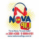 Logo da emissora Rádio Nova 91.1 FM