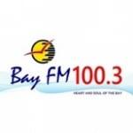 Logo da emissora Radio Bay 100.3 FM