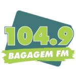 Logo da emissora Rádio Bagagem 104.9 FM