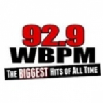 Logo da emissora WBPM 92.9 FM