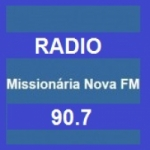 Logo da emissora Rádio Missionária Nova
