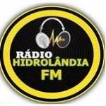 Logo da emissora Rádio Hidrolândia FM