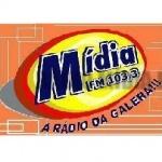 Logo da emissora Rádio Mídia FM