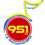 Logo da emissora Radio La Pachanguera 95.1 FM
