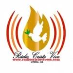 Logo da emissora Rádio Cristo Vive