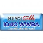 Logo da emissora WWBA 1040 AM