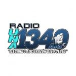 Logo da emissora Radio Una 1340 AM