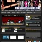 Logo da emissora Rádio Web Explosão Cornélio
