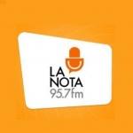 Logo da emissora Radio La Nota Diferente 95.7 FM