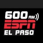 Logo da emissora KROD 600 AM