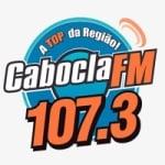 Logo da emissora Rádio Cabocla 107.3 FM