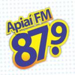 Logo da emissora Rádio Apiaí  87.9 FM