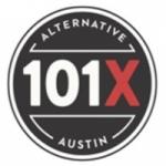 Logo da emissora KROX 101.5 FM