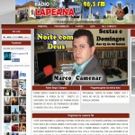 Logo da emissora Rádio Lapeana 98.3 FM